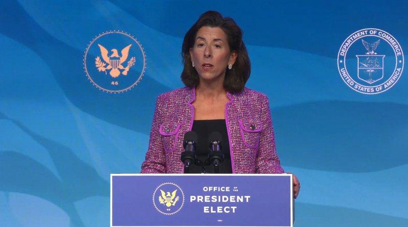 美國總統拜登提名的商務部長人選雷蒙多(Gina Raimondo)在國會參議院的人事聽證會承諾,將對中國的「反競爭」貿易行為採取強硬態度。 歐新社