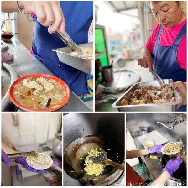 老闆和老闆娘分工合作,炒飯和炒麵多由老闆娘阿莉親手料理,很受客人歡迎。