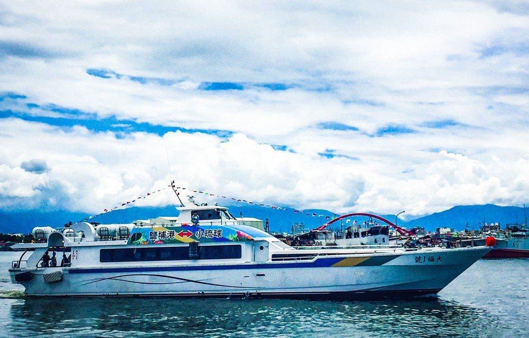 為減輕春節連假屏東東琉線的客船運輸負荷,交通部航港局規畫分流至鹽埔泊區疏運措施。...