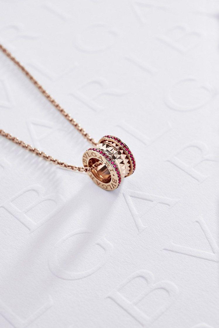 BVLGARI B.zero1 Rock系列紅寶石項鍊新年限量款,約13萬2,0...