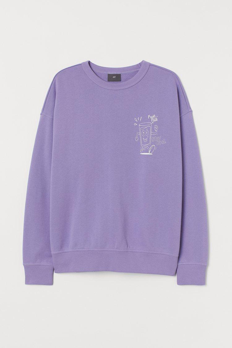 H&M新春系列男裝上衣799元。圖/H&M提供