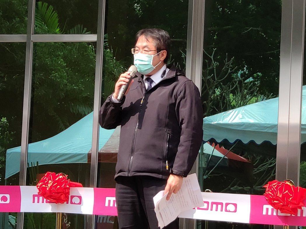 台南市長黃偉哲出席祝賀。記者謝進盛/攝影