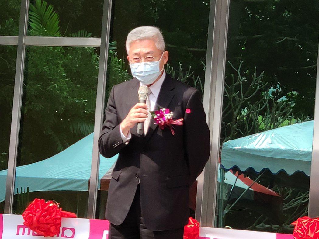 富邦媒總經理谷元宏表示,看好大台南物流商機。記者謝進盛/攝影