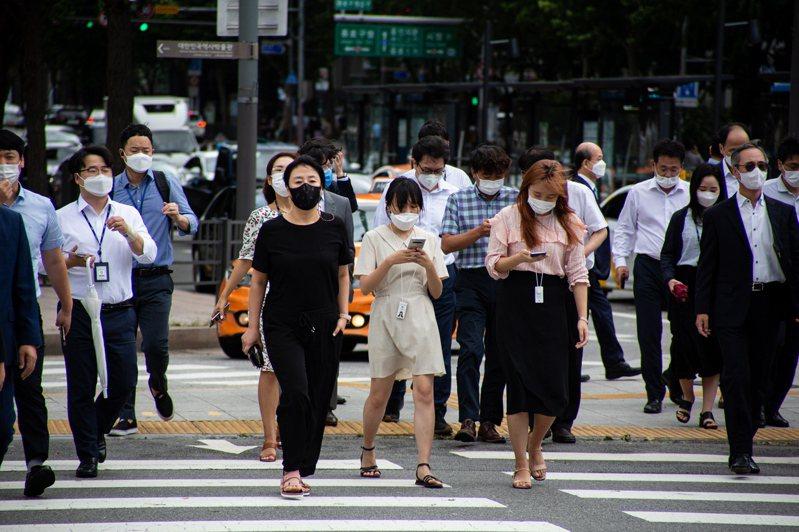 南韓人口連13個月負成長。歐新社
