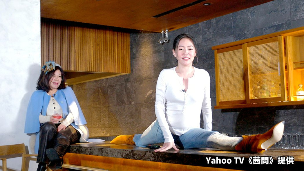小S(右)接受陳文茜專訪。圖/Yahoo TV提供