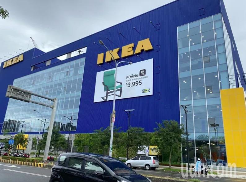 IKEA在全台許多縣市都有展店。本報資料照片
