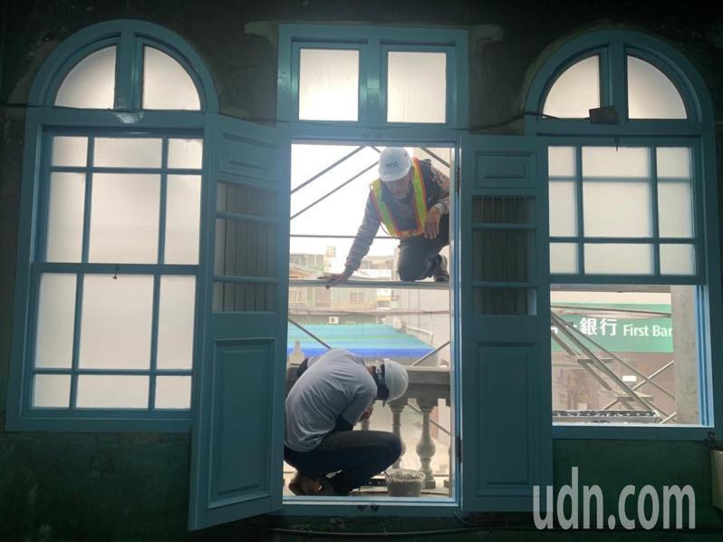 台南新化老街保有百年老屋之美。記者吳淑玲/攝影