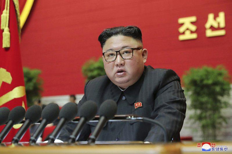 北韓領導人金正恩代表的核武問題將讓拜登費神。美聯社