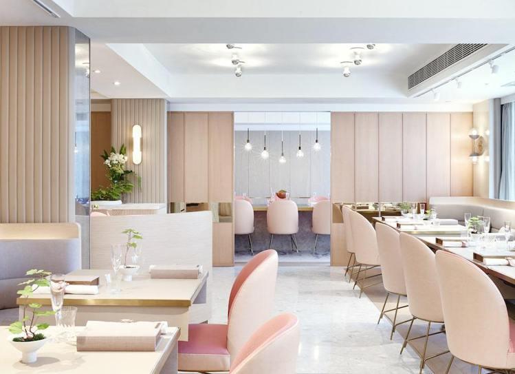 米其林二星餐廳Tate菜單以法國料理為本,並加入大量中式元素。圖/摘自米其林官網
