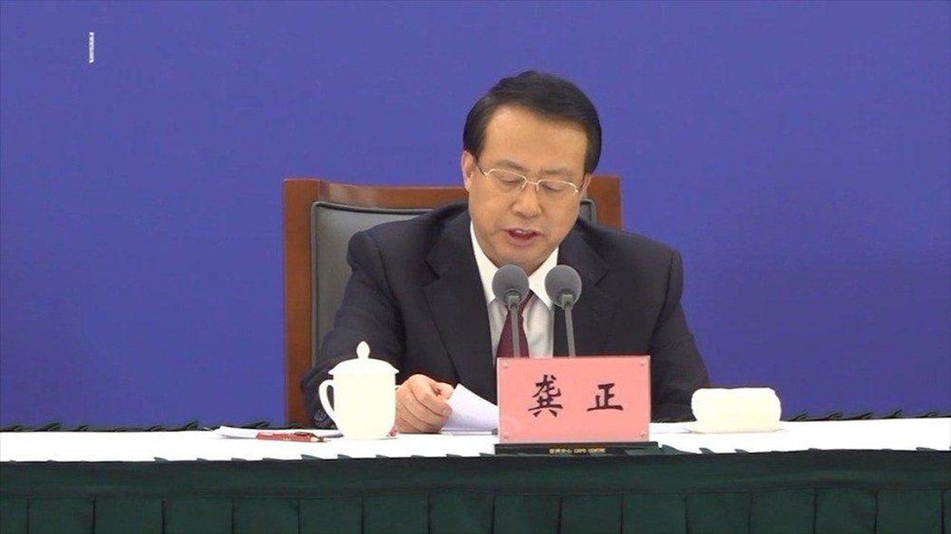 上海市長龔正。圖/新浪看點