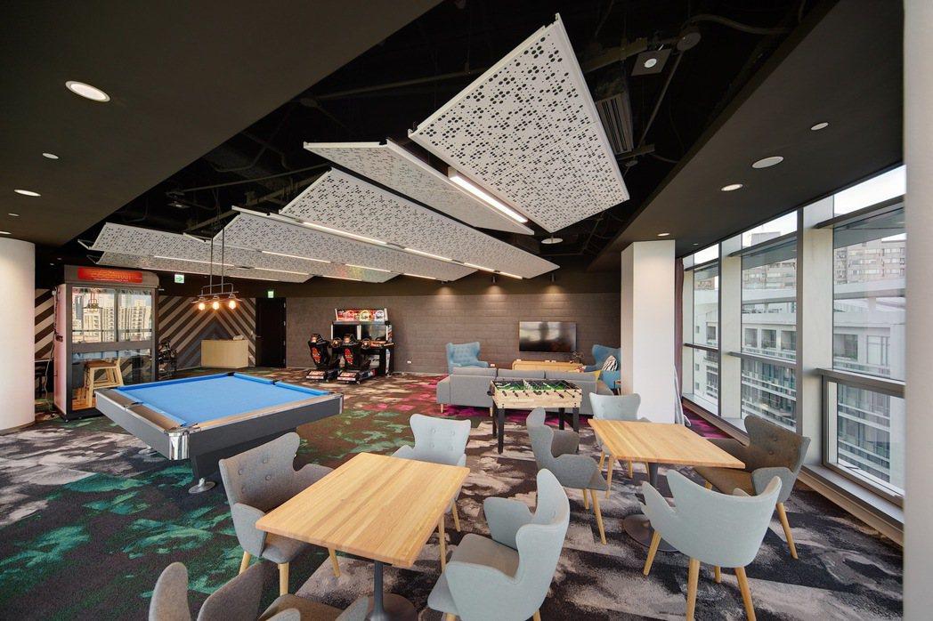 Google內建遊戲室,裡面的遊戲也由員工決定。Google/提供