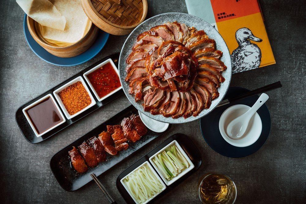 「享鴨」同德店外帶滿600元,送蔥餅捲鴨肉1份。圖/王品提供