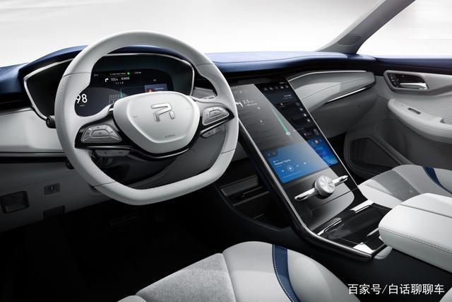 大陸首款5G汽車下月將問世,上汽榮威的MARVEL-R是一款純電動SUV車型,搭載華為晶片。 圖/百家號