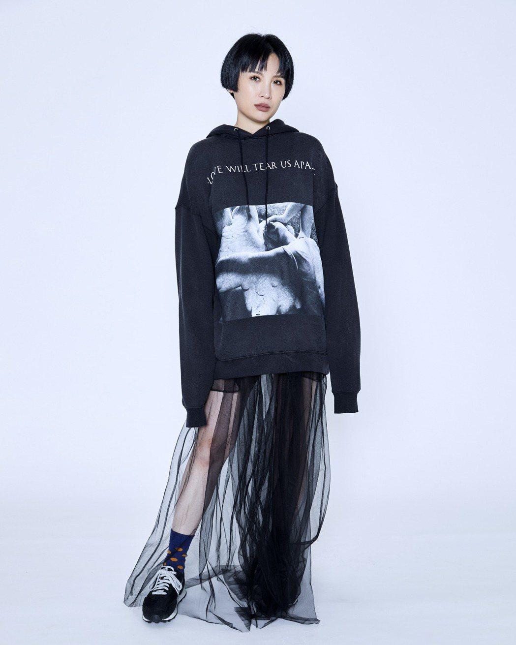 魏如萱擔任KKBOX風雲榜頒獎典禮演出嘉賓。圖/KKBOX提供