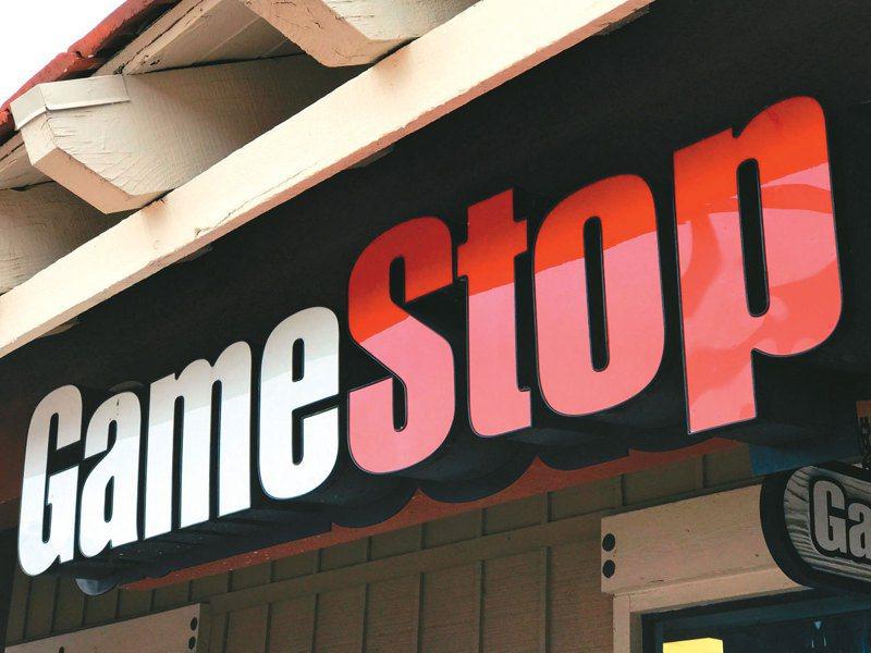 GameStop(遊戲驛站)股價狂飆,今年來已暴漲逾1,500%。 (路透)