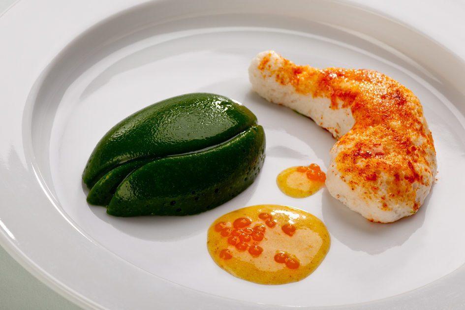 德國食品新創公司biozoon製作的3D列印食物。 圖片來源/biozoon