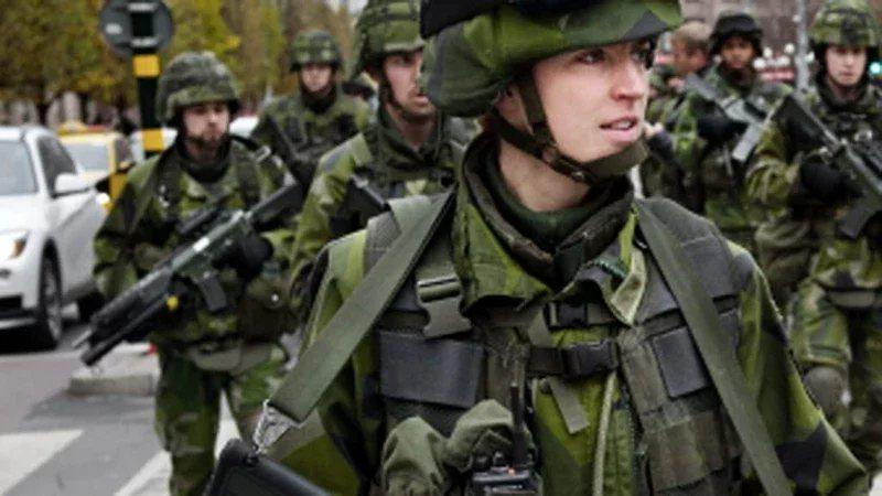 圖為瑞典武裝部隊。 圖/擷自forsvarsmakten.se