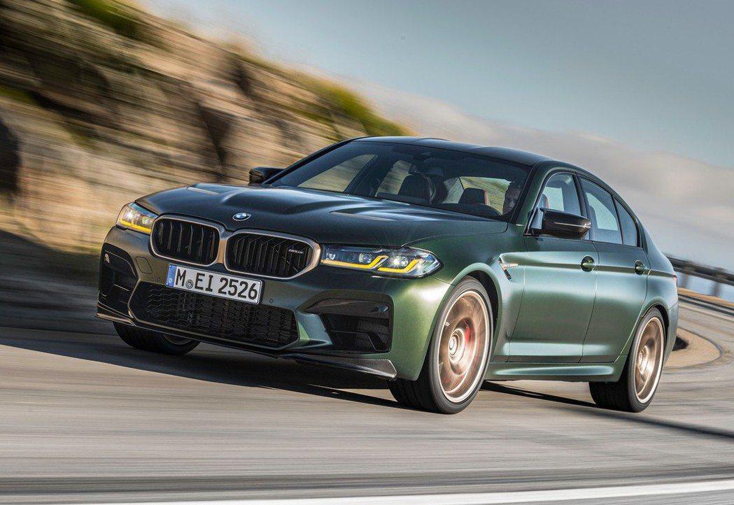 BMW M5 CS僅需3.0秒即可完成0-100 km/h加速。 摘自BMW