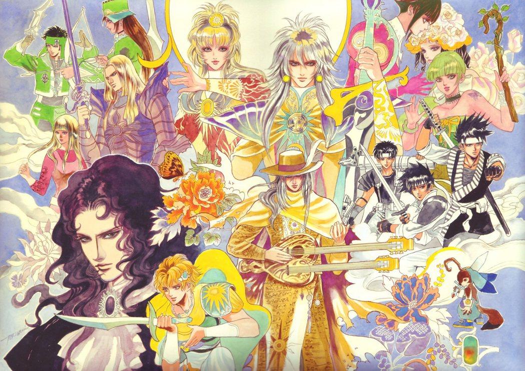 提到復活邪神,就不得不提到讓人印象深刻的人物插畫,它們皆出自於知名插畫家「小林智...
