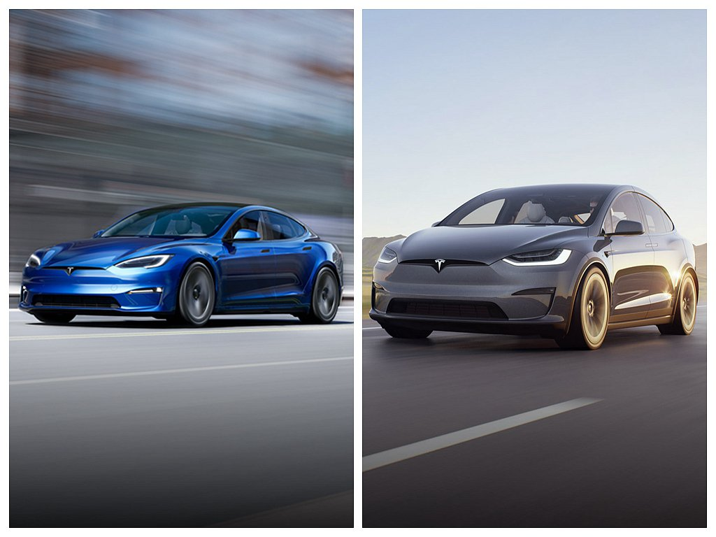 美國豪華電動車廠特斯拉,推出大幅更新的Model S、Model X。 圖/特斯...