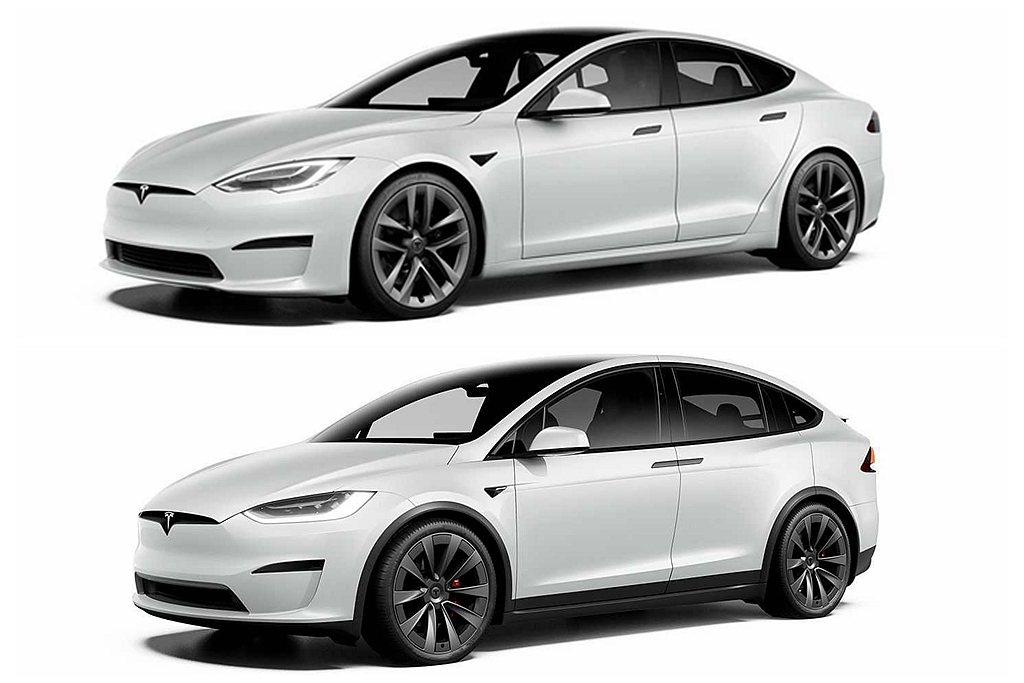 外觀方面,特斯拉Model S、Model X全數換上嶄新車身外觀線條,前下保桿...