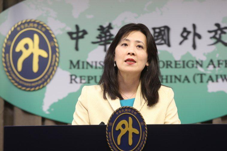 圖為外交部發言人歐江安。 聯合報系資料照片/記者邱德祥攝影