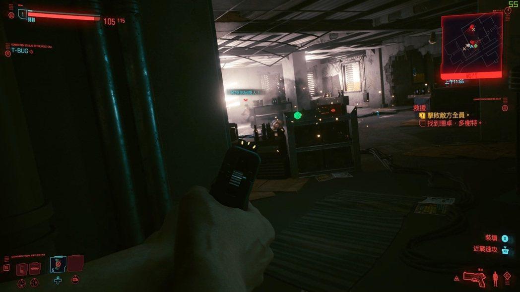 Cyberpunk 2077遊戲實戰光影表現讓人驚艷,槍戰場景在1080P的幀數...