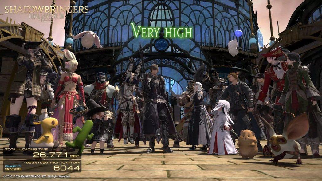 FINAL FANTASY XIV:Shadowbringers採1080P高標...