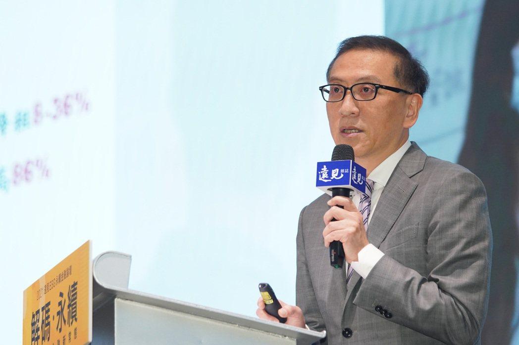 中信金控總經理吳一揆昨(28)日出席遠見ESG永續金融論壇。 主辦單位/提供