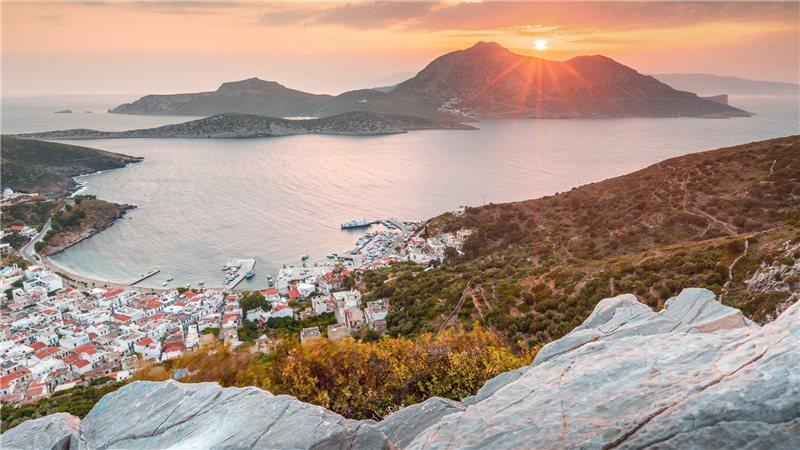 到愛琴海尋找拍照的黃金時段 / 來源:discovergreece