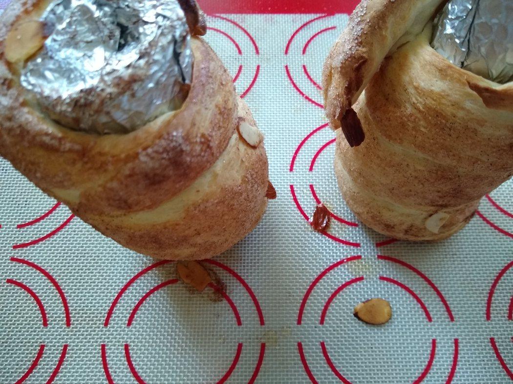 圖文:美國番媽/食譜/匈牙利肉桂糖煙囪卷