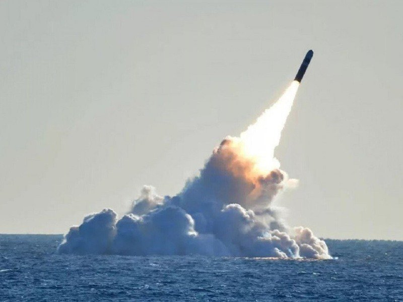 美國空軍航空太空情報中心1月初發布報告,提到中國正祕密開發最先進潛射長程彈道飛彈「巨浪3型」,足以威脅美國本土。圖/翻攝自SCMP
