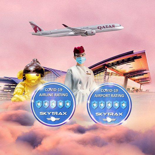 卡達航空公司其在有航空界奧斯卡之稱的國際航空運輸評級機構Skytrax全球航空公...