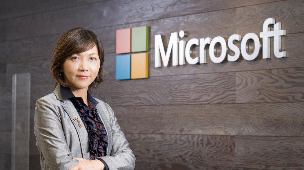陳慧蓉接任台灣微軟首席營運長。 業者提供