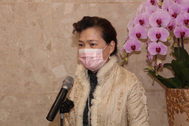 朝野要求衛福部透過貿易談判取得疫苗,王美花昨天表示,德國在台協會處長王子陶到經部開會時,她有向對方表達這個。記者鍾泓良/攝影