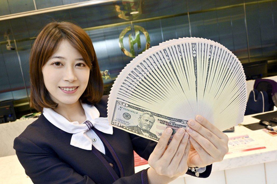 華南銀行針對中小企業及個人推出2個月期、年息0.4%美元優利定存專案。圖/華南銀...