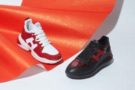 「喜氣紅」配增高鞋墊修飾腿長!HOGAN新年男女鞋限量上市