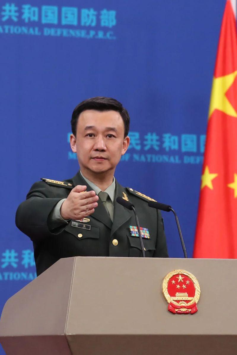 大陸國防部發言人吳謙。(陸國防部官網)