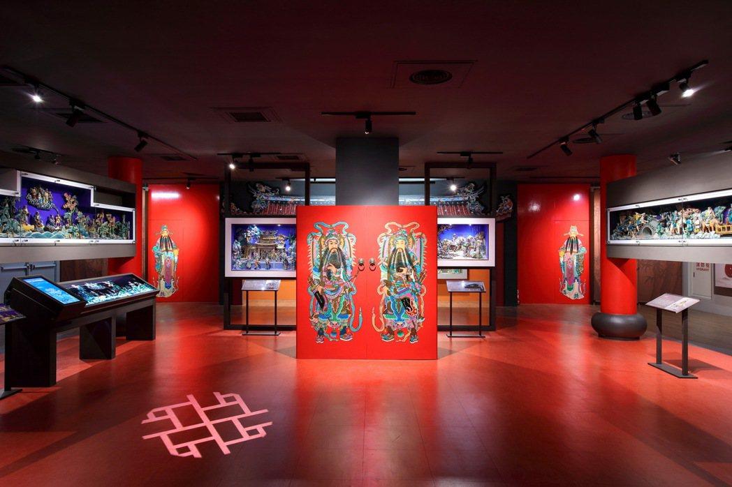 交趾陶館展場從活潑的主題、有趣的手法、互動的形式,帶領大家親近交趾陶。圖/嘉義市...