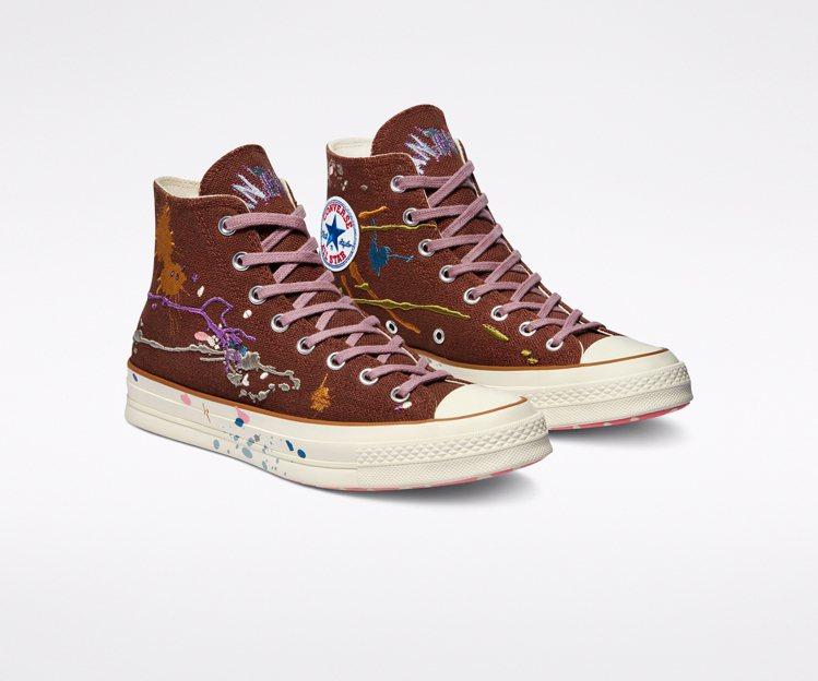 Converse與Bandulu聯名Chuck 70鞋3,780元。圖/Conv...