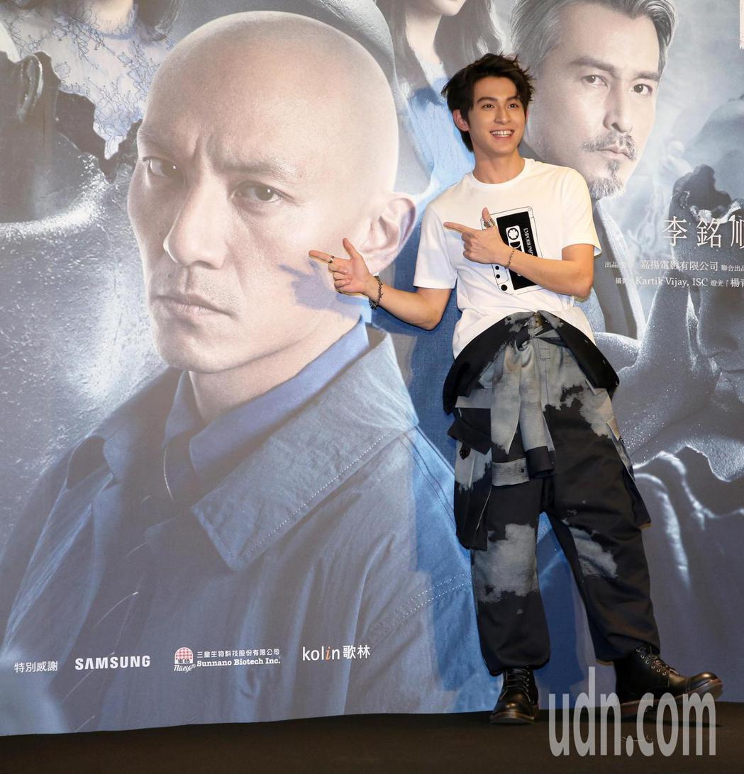 電影「緝魂」首映會,主演張震、林暉閔出席。記者胡經周/攝影
