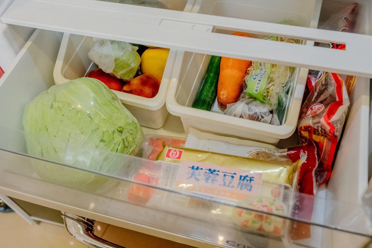 出門前習慣先開冰箱看看有什麼!就算多買一顆洋蔥,也是多買喔! 圖/時報出版 提供