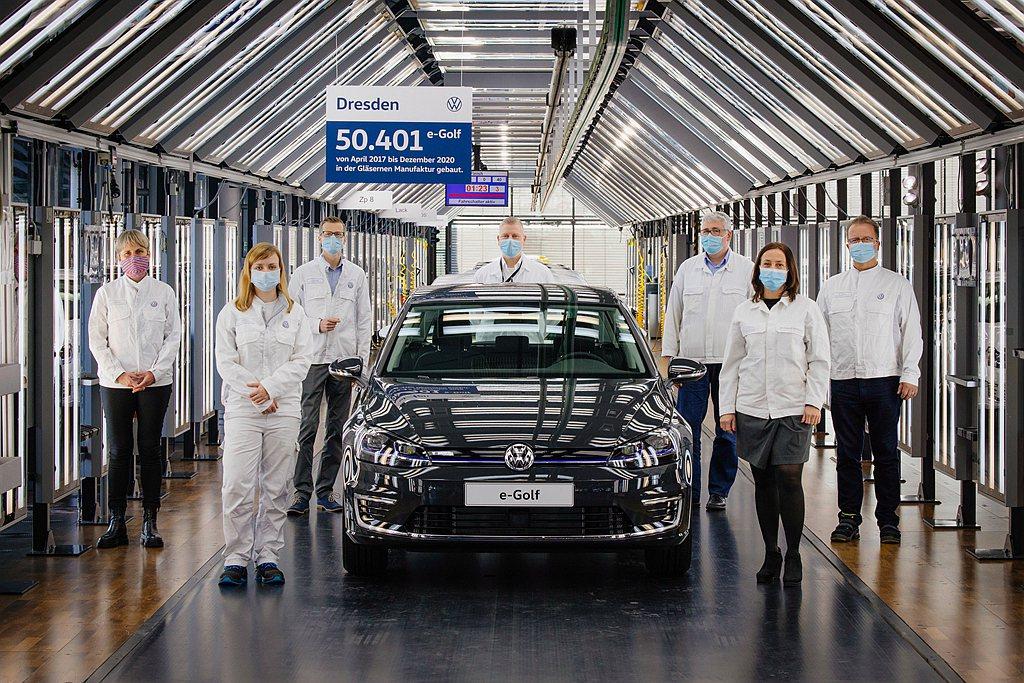 純電版福斯e-Golf,已經完成階段性任務停止生產。 圖/Volkswagen提...