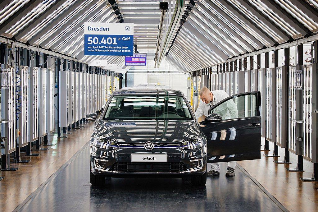 福斯e-Golf自2014年推出總共生產145,561台,並成為歐洲市場熱賣的電...