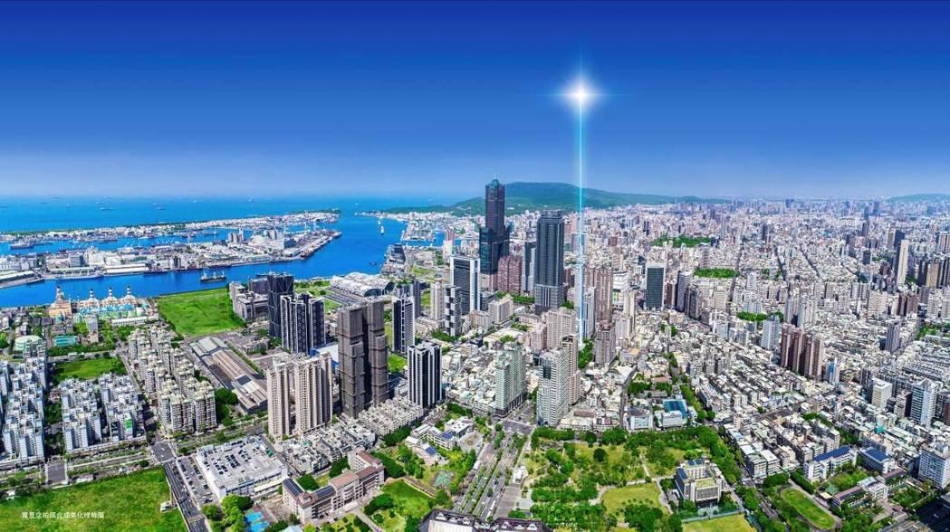 亞洲新灣區引領高雄朝國際大都會大步邁進。圖/業者提供