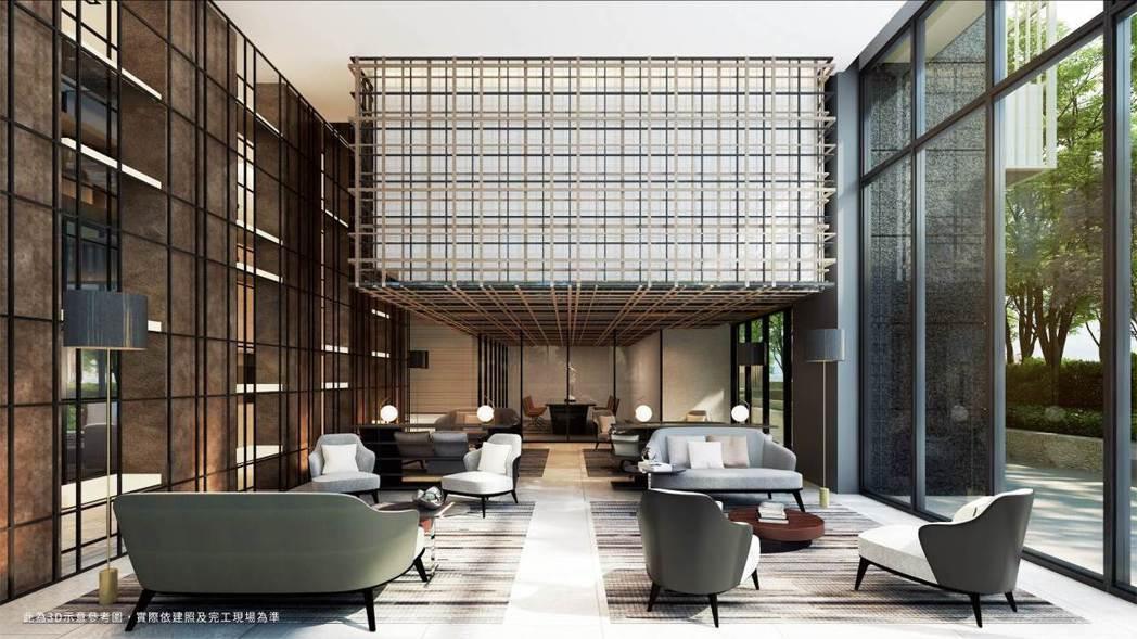 「和陸寓邸」公設由華人圈知名建築大師李瑋珉設計。圖/業者提供