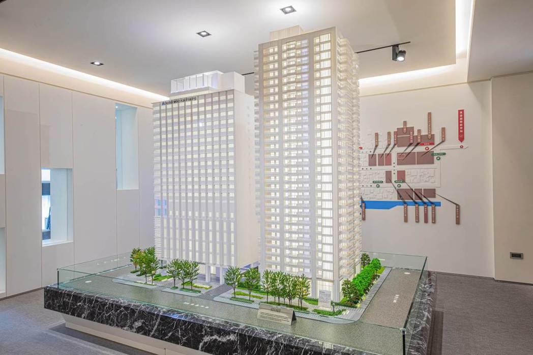 「和陸寓邸」主推22~56坪為坪數訴求。圖/業者提供