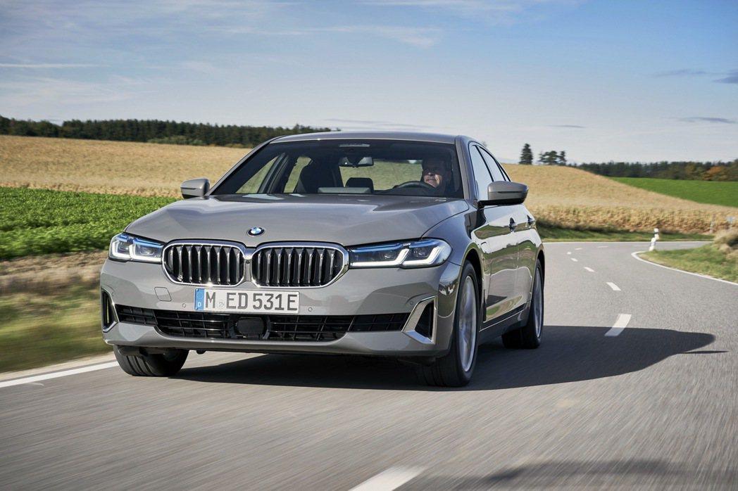 BMW G30 5 Series動力編成原本就已有530e、540e與545e三...