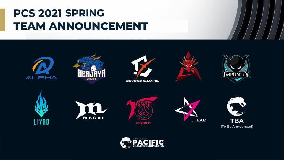 《英雄聯盟》PCS 聯賽預計於 2 月 19 日正式開打