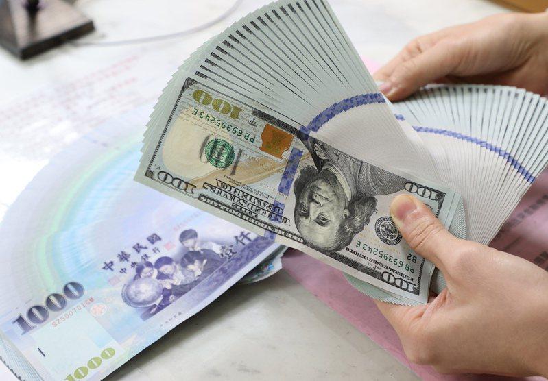 圖為台幣兑美元匯率示意圖。記者潘俊宏攝影/報系資料照